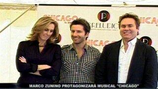 Marco Zunino protagonizará musical Chicago en Broadway