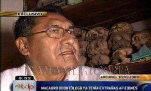 Confirmado: dejan en libertad a sujeto que coleccionaba huesos en Pueblo Libre