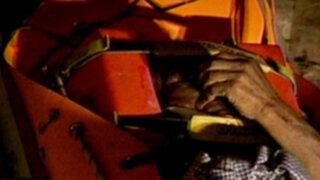 Anciano queda atrapado tras derrumbe de Antigua vivienda en el Rímac