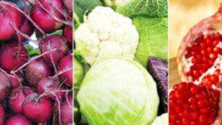 Nutrición: Que alimentos elegir  para preparar una comida saludable