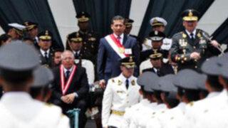 Presidente Ollanta Humala:  Mantengan la disciplina y nunca permitan la corrupción