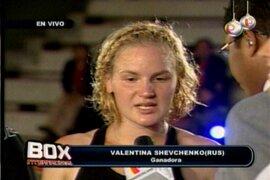 Valentina Shevchenko: Ahora voy por el título mundial de box