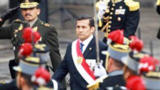 Presidente Ollanta Humala hace pasar al retiro a 20 generales del Ejército