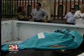 Cajamarca: asesinan a puñaladas a teniente gobernador en Pucará