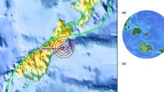Fuertes sismos azotaron esta madrugada Nueva Zelanda