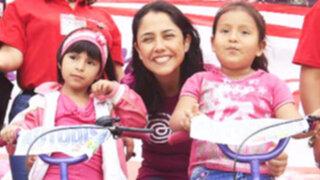 Nadine Heredia: Que la unión y la tolerancia brillen en los corazones de los peruanos esta Navidad