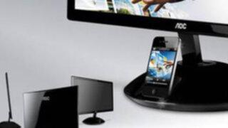 Nuevo monitor graba música y videos del iPhone sin cables