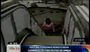 Barrios más pobres de Medellín se beneficiarán con servicio de escaleras eléctricas