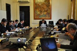 Presidente Ollanta Humala presidirá hoy sesión del Consejo de Ministros