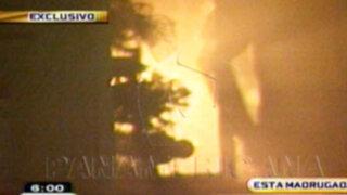 Cercado de Lima: Incendio en condominio provoca caos entre los vecinos