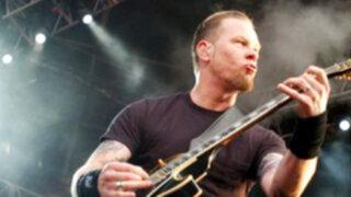 Uruguay: fotógrafos acusan de agresión al vocalista de Metallica