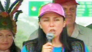 Primera Dama pide unión de peruanos para resolver los problemas