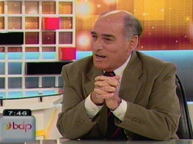 Carlos Tapia: Premier Valdés ni siquiera ha leído el plan de gobierno
