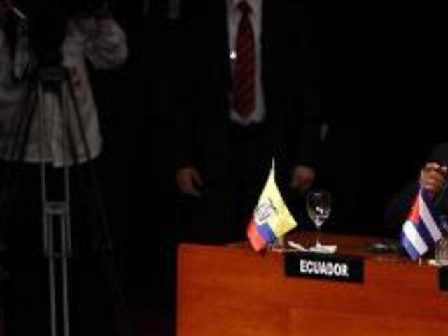 Reunión de presidentes latinoamericanos en Caracas marca el inicio de la Celac