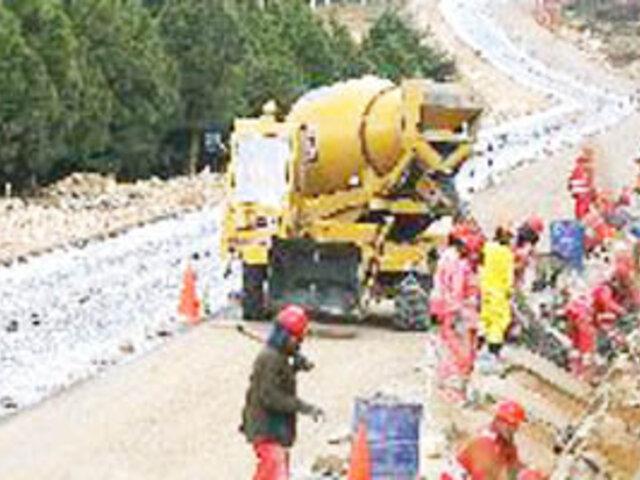 Ministro de Transportes: ejecución de obras viales en Cajamarca costarán S/. 500 millones