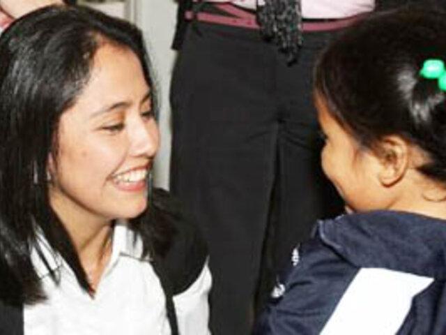 Primera Dama brinda agasajo navideño para los niños en Palacio de Gobierno