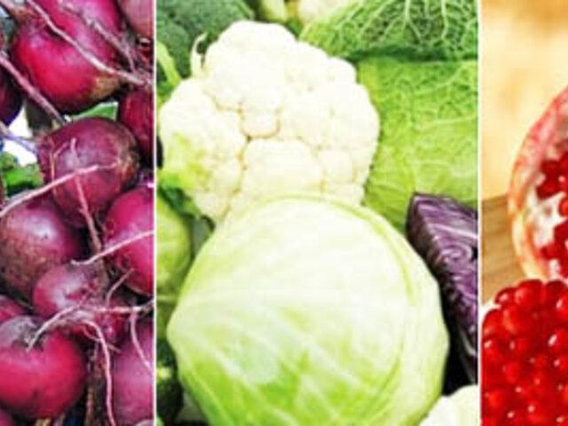 Selección basada en los 10 alimentos más saludables del mundo