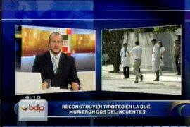 Reconstruyen balacera donde empresario mató a dos delincuentes en Miraflores