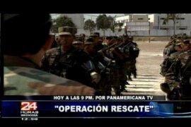 Desde esta noche 'Operación Rescate' por Panamericana Televisión