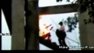 India: mujer se prende fuego en medio de una protesta