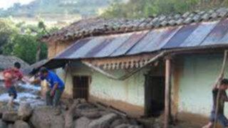 Indeci: intensas lluvias afectan a 21 departamentos del país