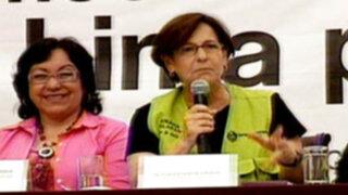Susana Villarán realiza primera rendición de cuentas ante los vecinos de Lima