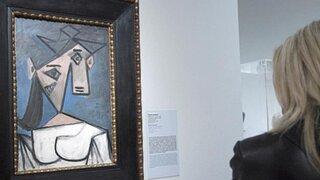 """Desconocidos roban obra de Pablo Picasso """"Cabeza de mujer"""" en Atenas"""