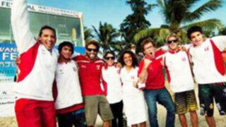 Perú logró conquistar la medalla de oro en el China Cup 2012 de Surf