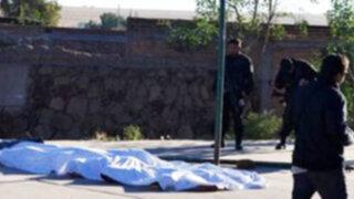 Policía de México halla 13 cadáveres apilados y torturados