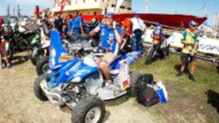 Piloto peruano Ignacio Flores está entre los 15 mejores del Rally Dakar 2012
