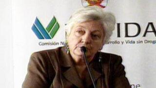 Ex directora de Cedro Carmen Masías fue designada como nueva directora de Devida