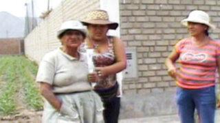 Chosica: desconocidos pretendían invadir terreno de una anciana
