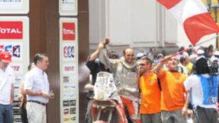 Pilotos peruanos lograron completar su participación en el rally Dakar 2012