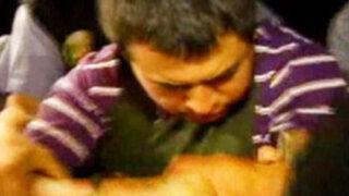Delincuente conocido como El 'Cortanalgas' es llevado al penal Sarita Colonia del Callao