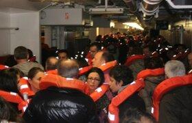 En exclusiva 24 Horas mostró imágenes inéditas de la catástrofe al interior del Costa Concordia
