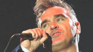 Concierto que cantante Morrissey realizará en Lima cambió de fecha
