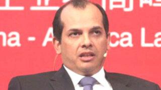 Ministro Castilla  estima que economía nacional crecerá en 5.7% este año