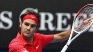 Nadal y Federer se enfrentarían en la ronda semifinal del Abierto de Australia