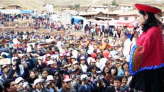 Nadine Heredia: todos tenemos que crecer al ritmo que crece el Perú