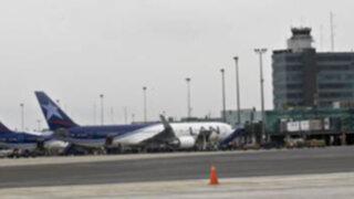 Desde febrero funcionará con normalidad la pista de aterrizaje del Jorge Chávez