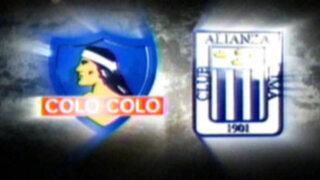 """Alianza Lima enfrenta a Colo Colo de Chile en la """"Noche Blanca"""""""