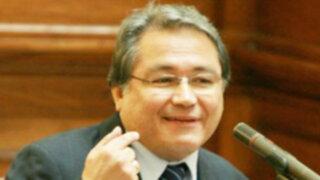 Walter Albán fue presentado como embajador de Perú ante la OEA