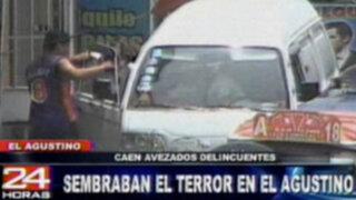El Agustino: policía detiene a avezado delincuente que asaltaba a camioneros
