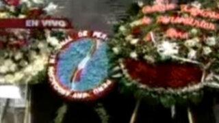 Rinden homenaje a víctimas de la masacre en Uchuraccay