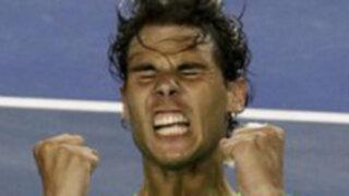 """""""Rafa"""" Nadal derrota a Federer y es finalista del Abierto de Australia"""