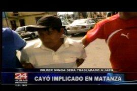 Asesino detenido en Lima será llevado a Jaén para indagar matanza de policías