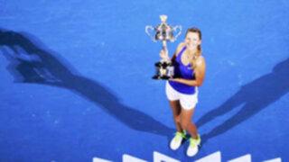 Victoria Azarenka ganó la corona del tenis femenino en Australia