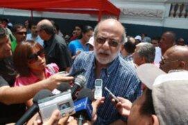 Daniel Abugattás asegura que ministro Mayorga no incurrió en conflicto de intereses