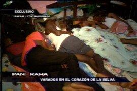 """Lamentable realidad: Haitianos varados en el """"corazón de la selva"""""""