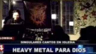 Colombia: iglesia canta el Padre Nuestro al ritmo del heavy metal